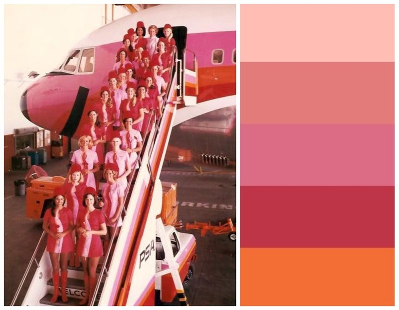 High Flying Color Palette
